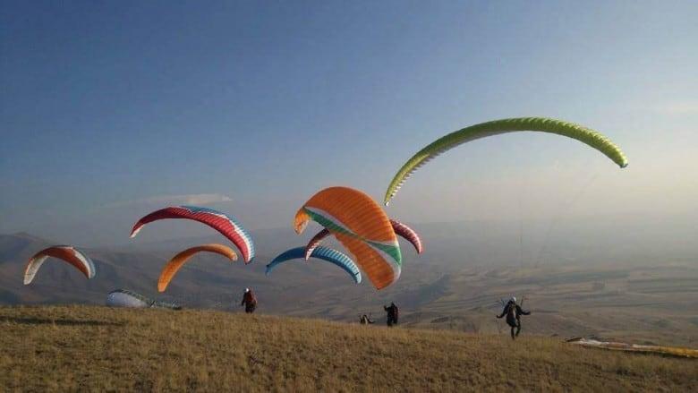 paragliding in Armenia