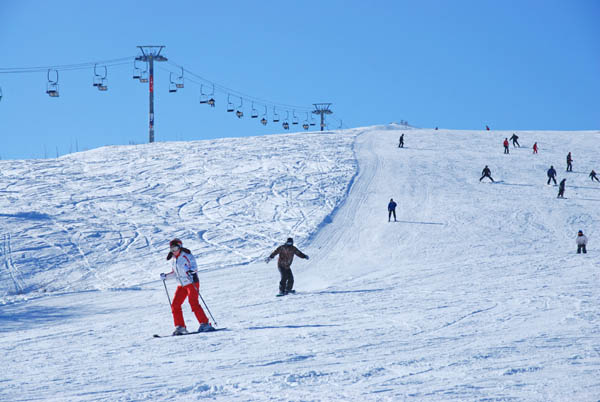 skiing in Tsaghkadzor