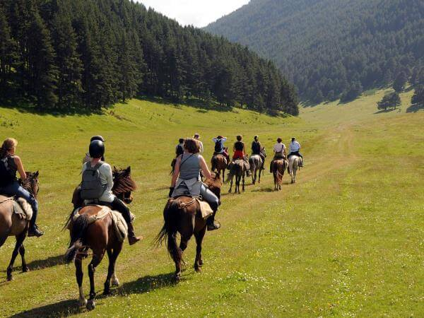 horse-riding in Armenia