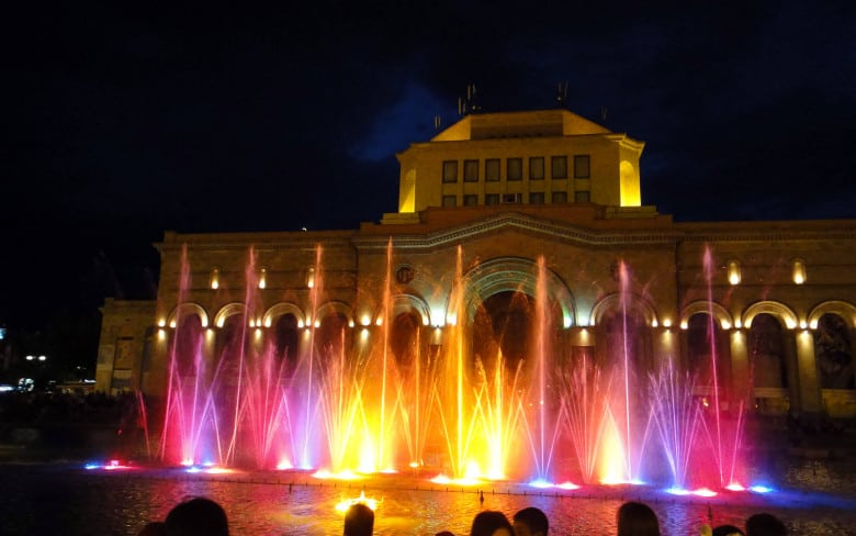 Singing Fountains of Armenia