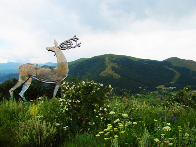 Jermuk's famous deer