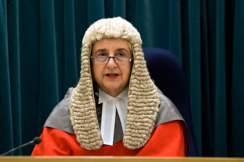 First female Chief Justice in New Zealand,Dame Sian Seerpoohi Elias