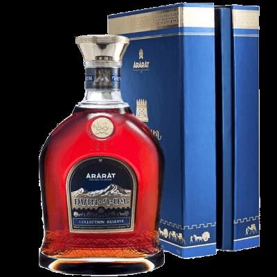 The legendary Dvin Cognac