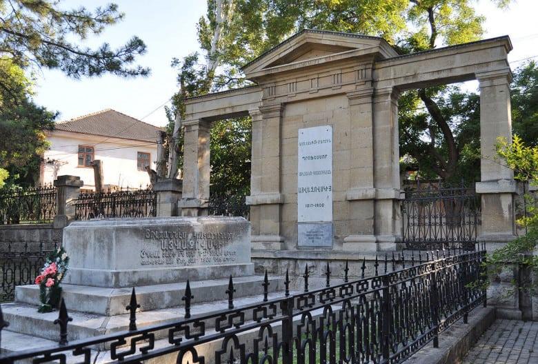 Ayvazovsky's tomb in Feodosiya, Crimea