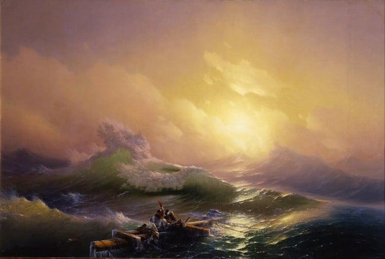 9th wave - Ivan Ayvazovsky