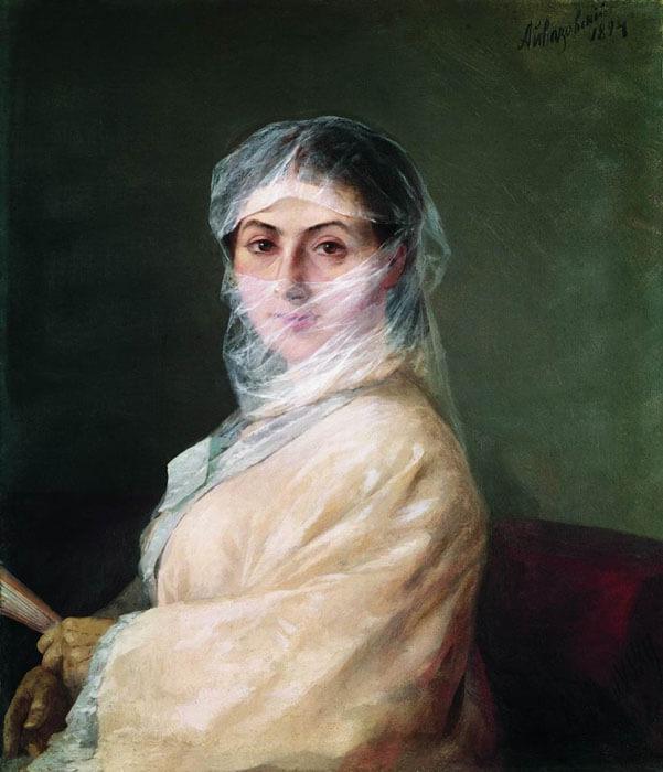 Ayvazovsky's second wife Ani Burnazian