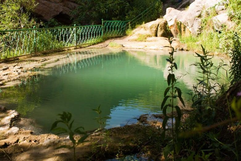 Mineral Springs on Devil's Bridge