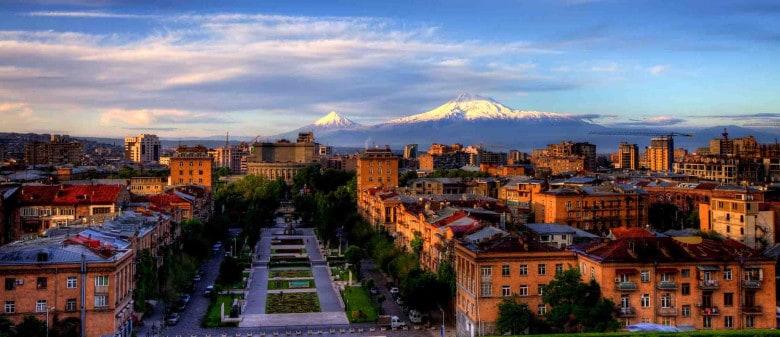 Mountain Ararat from Yerevan