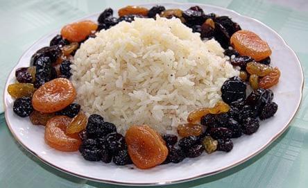 Рис с изюмом (Чамичов плов)