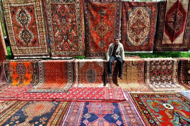 Vernissage Flea Market in Armenia