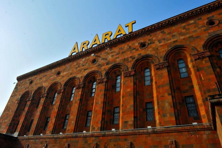 Ararat Brandy in Yerevan
