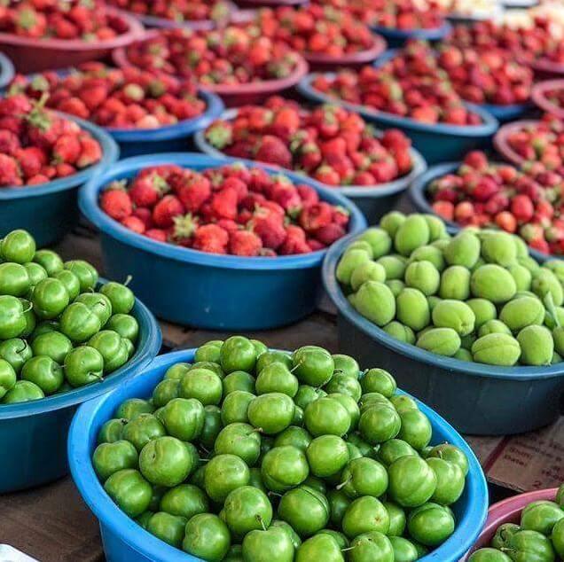Natural fruits of Armenia