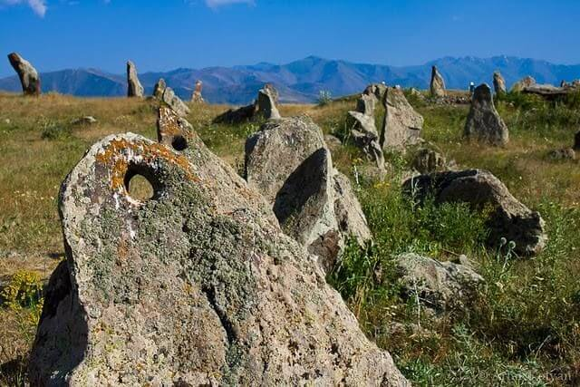 Qarahunj Armenian Stonehenge
