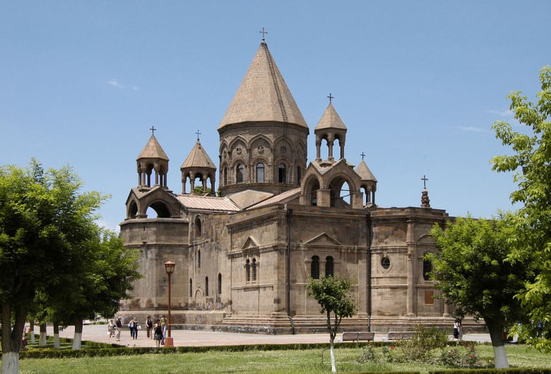 Echmiadzin Monastery was placed in UNESCO's World Heritage list