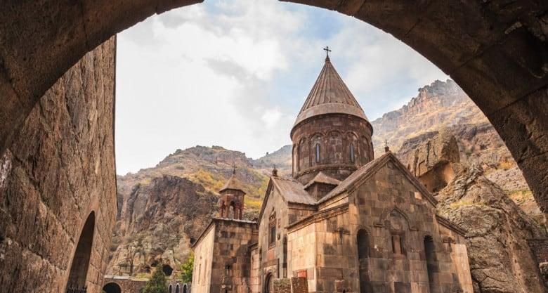 Geghard monastery is in UNESCO's World Heritage List