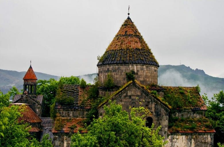 Sanahin Monastery is in UNESCO's World Heritage list