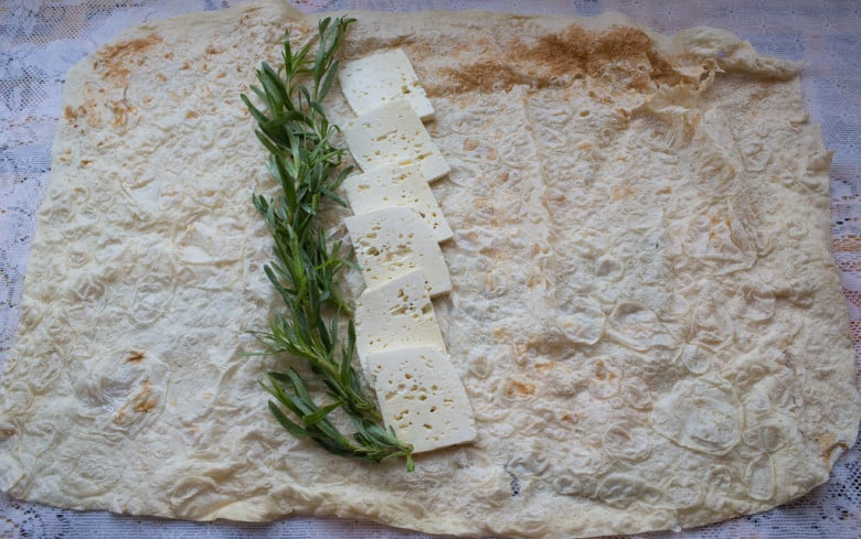 Armenian Cheese and Lavash