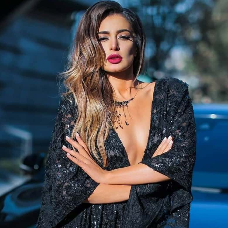 The beautiful Armenian lady-Iveta Mukuchyan