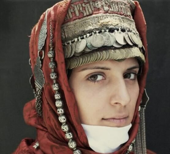The appearance of Armenian people