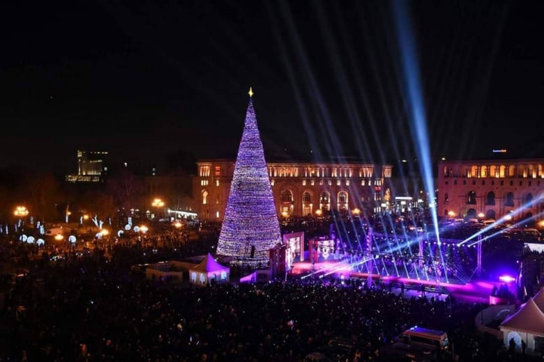 Armenian Christmas tree