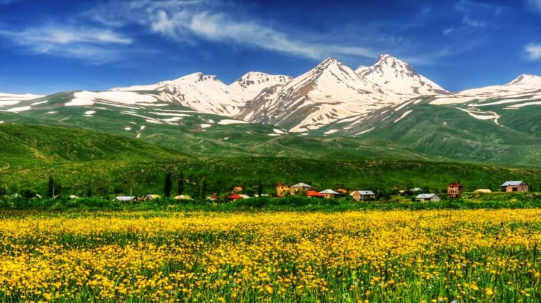 Camping at Aragats Mountain