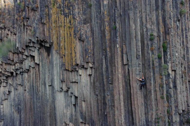 Rock Climbing in Armenia