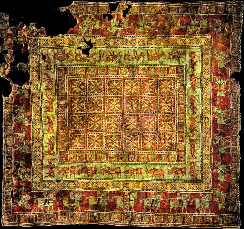 Самым старый армянский ковер