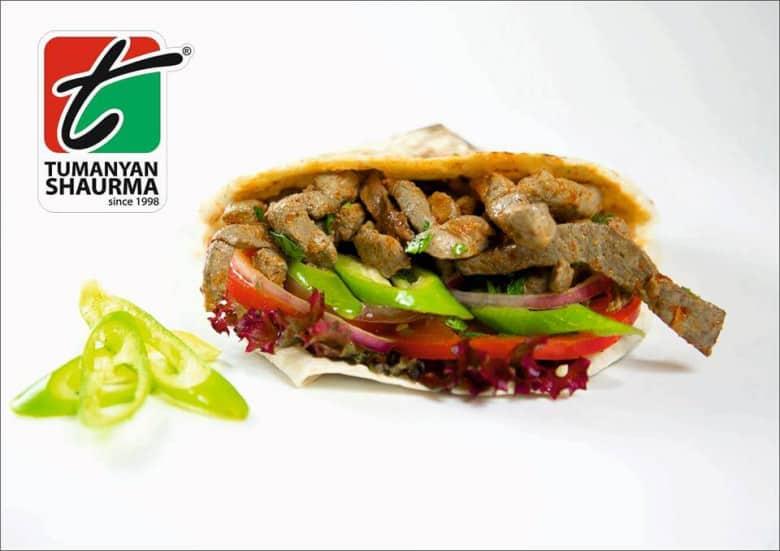 Tumanyan Shawarma in Armenia