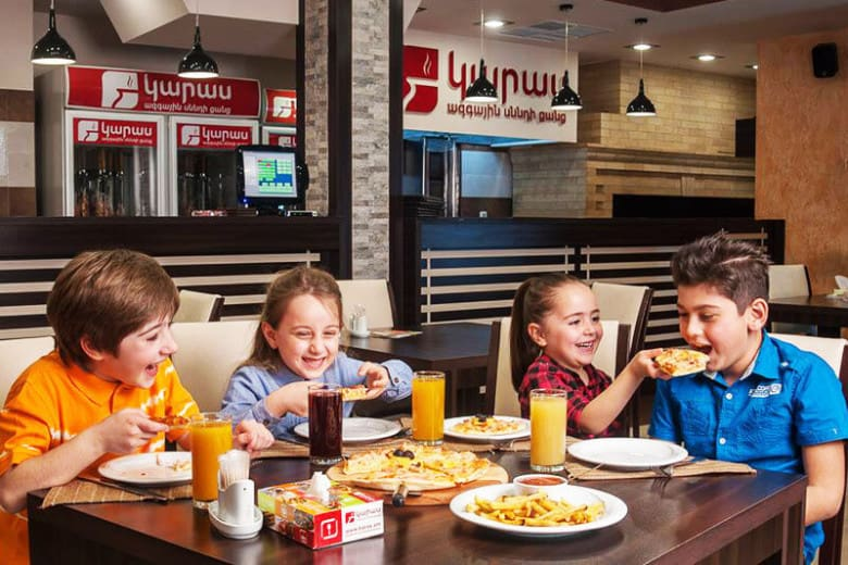 Karas National Food Chain in Armenia