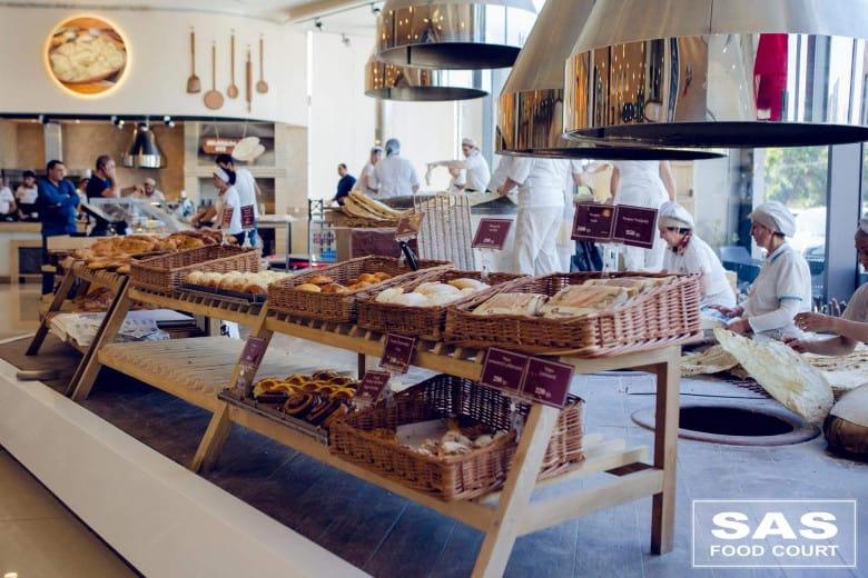 SAS Food Court in Armenia